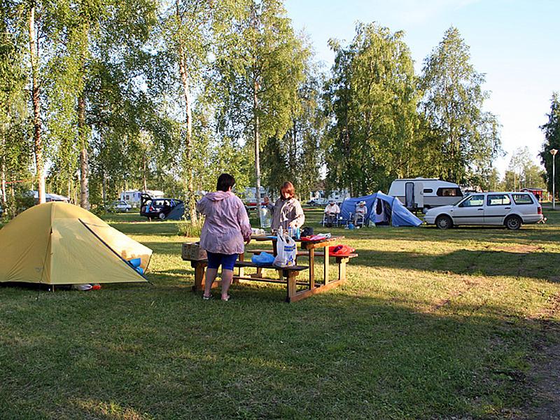 кемпинг для рыбалки в финляндии