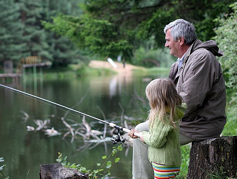 как я ходил на рыбалку летом