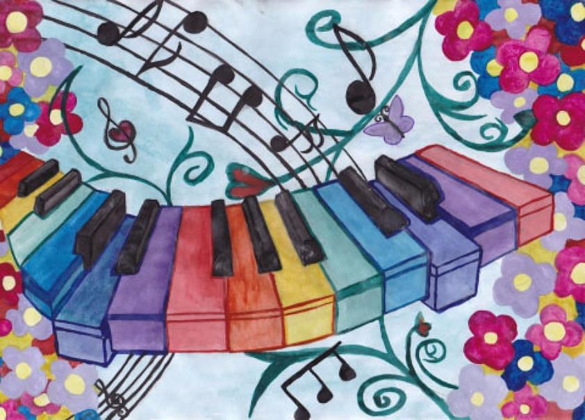 нам рисуем музыку в картинках том, как