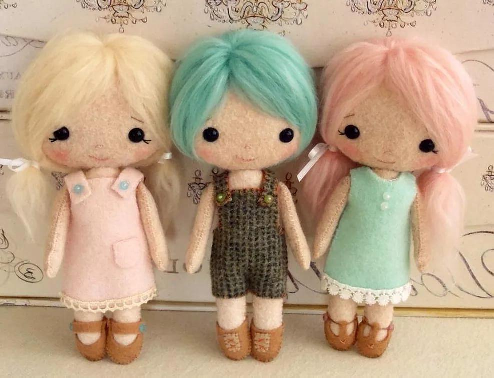 Поделки куклы своими руками из ткани